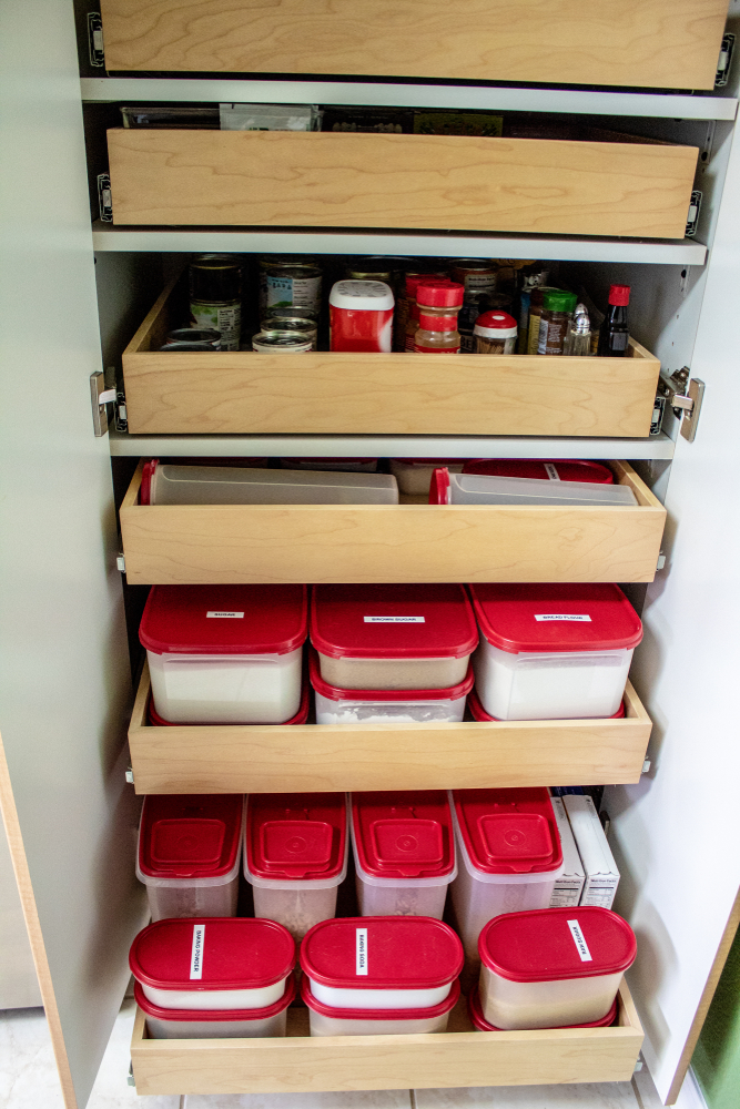clever ideas for kitchen pantry storage