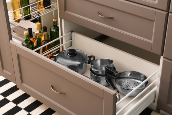 Space saving accessories for Kitchen