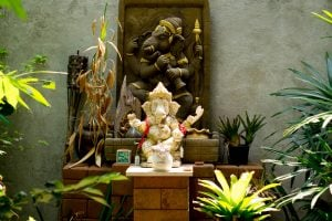 Ganesha murti for foyer