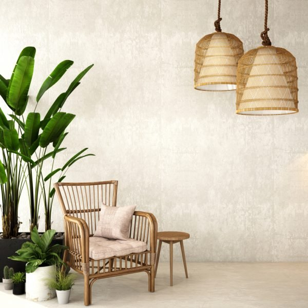 Bamboo Light Fixture