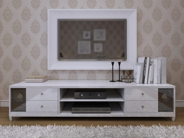 Frame your tv to make less obvious