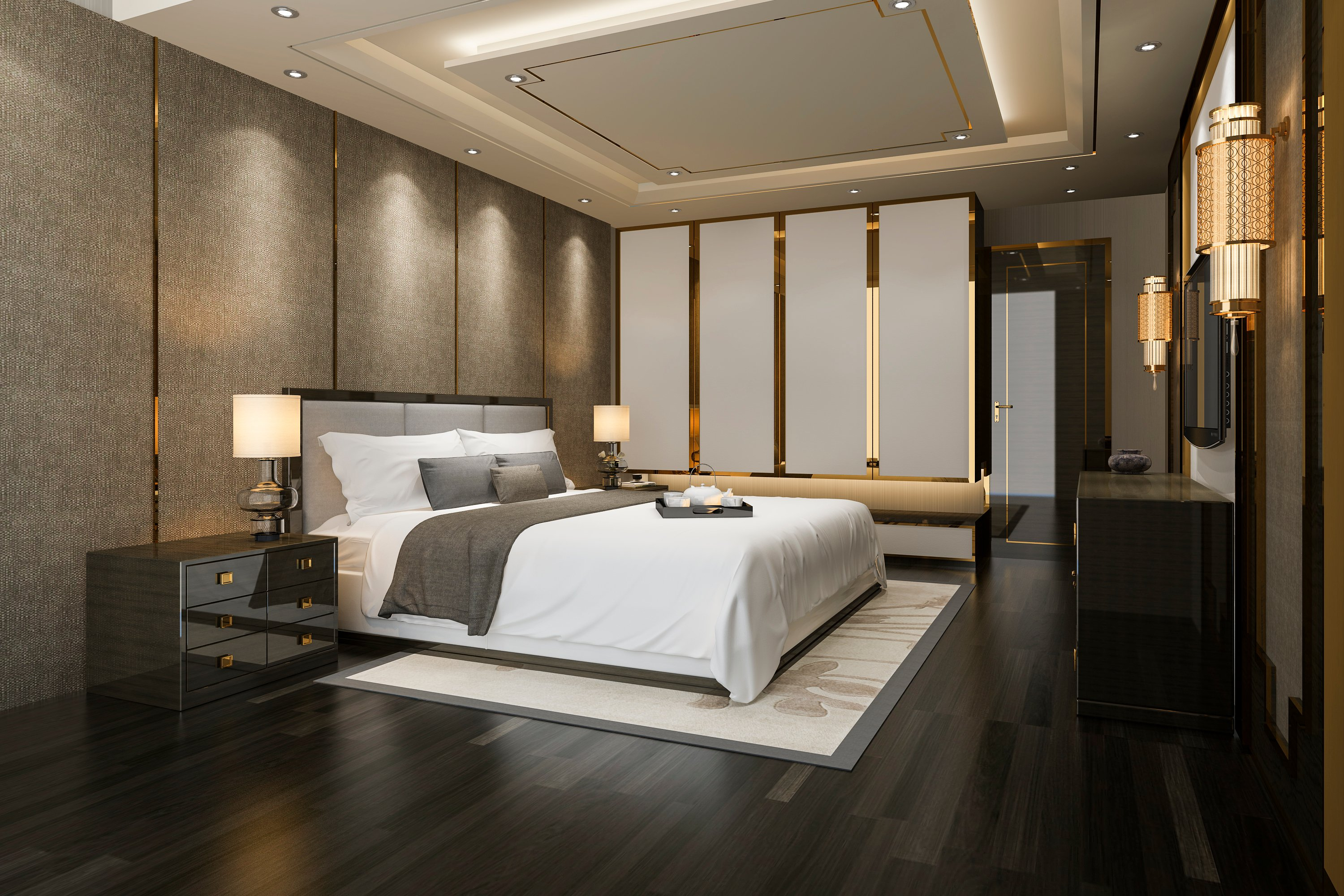2020 False Ceiling Designs For Bedroom - HomeLane Blog