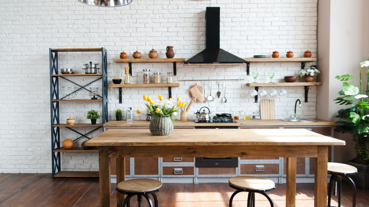 How To Arrange A Kitchen Without Cabinets Homelane Blog
