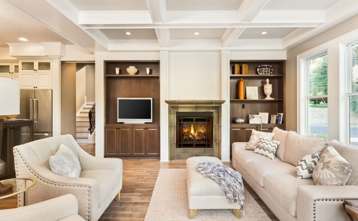 3-D false ceiling for living room