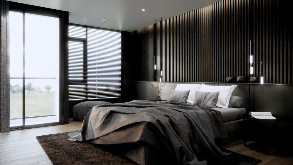 bedroom inspired from hotel