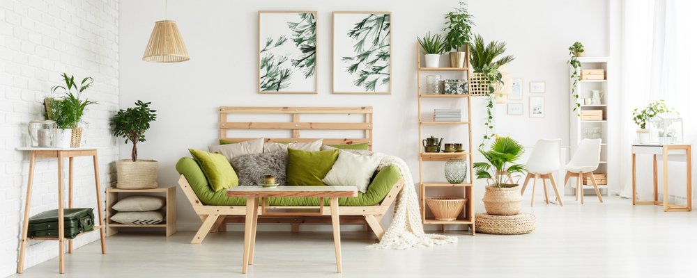 bohemian feature wall designs for Living room