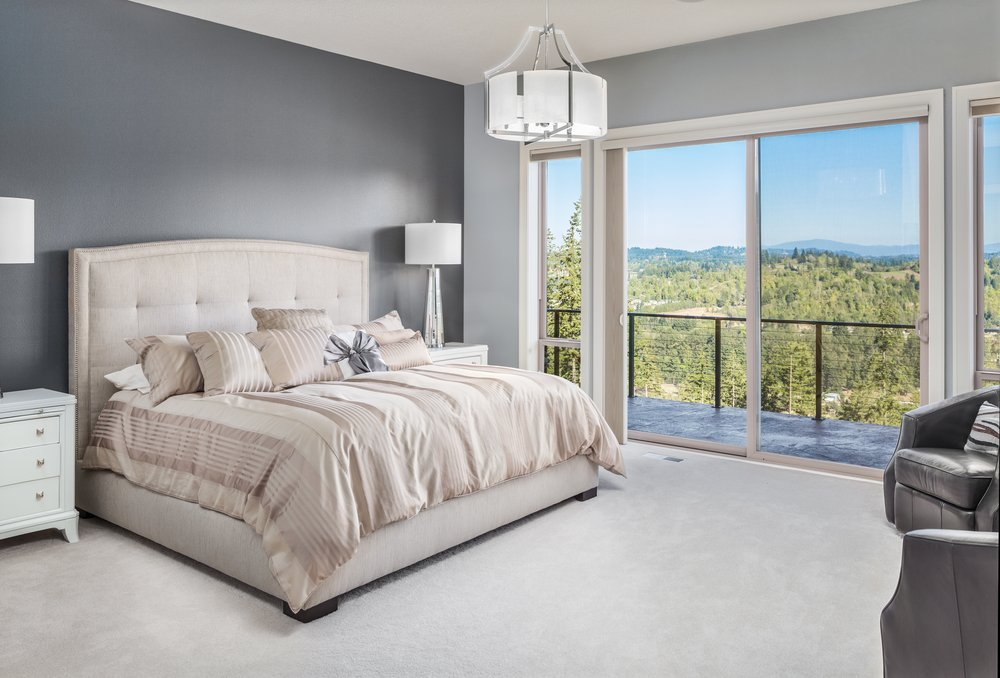 bedroom layout for large room