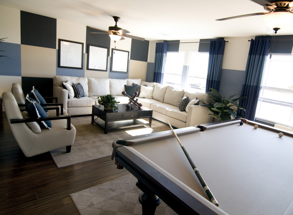 where to place pool table at home