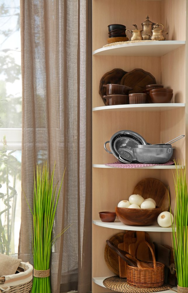 corner shelves designs