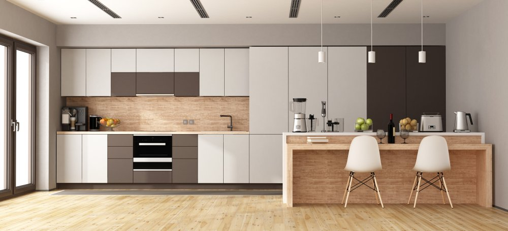 disadvantages of closed kitchen cabinets